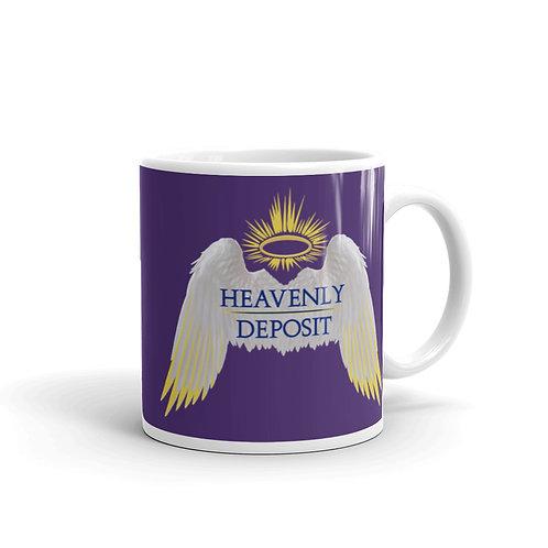 Heavenly Deposit 11 oz Mug - Purple