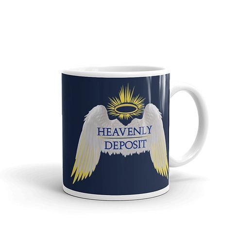 Heavenly Deposit 11 oz Mug - Navy