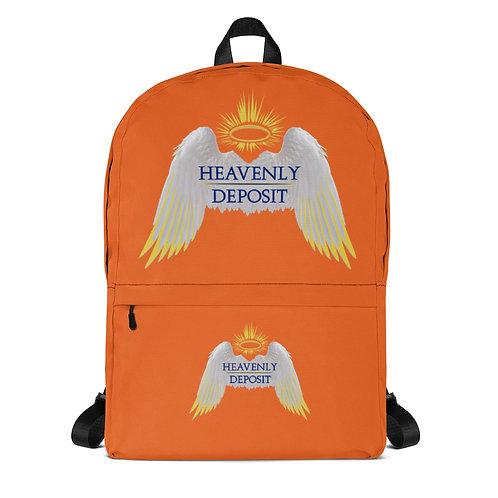 Trendy Heavenly Deposit Backpack -  Orange