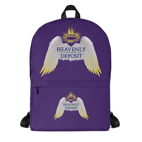Trendy Heavenly Deposit Backpack - Purple