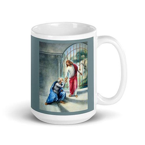 Keys To The Kingdom Mug - 15 oz - Gothic