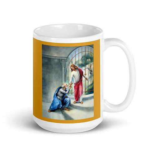 Keys To The Kingdom Mug - 15 oz -  Butter Cup