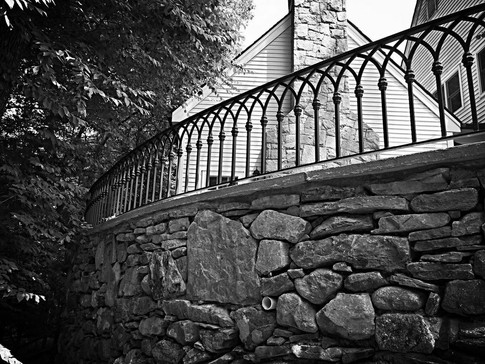STONE WALLS & STAIRS