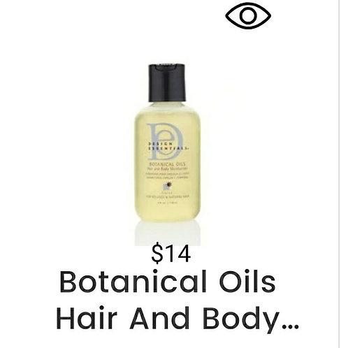 Botanical Oils Hair and Body Oil