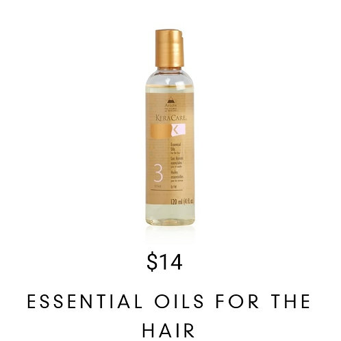 Essential Oils for the Hair