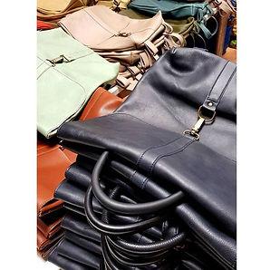 Bolsos y mochilas de piel handmade