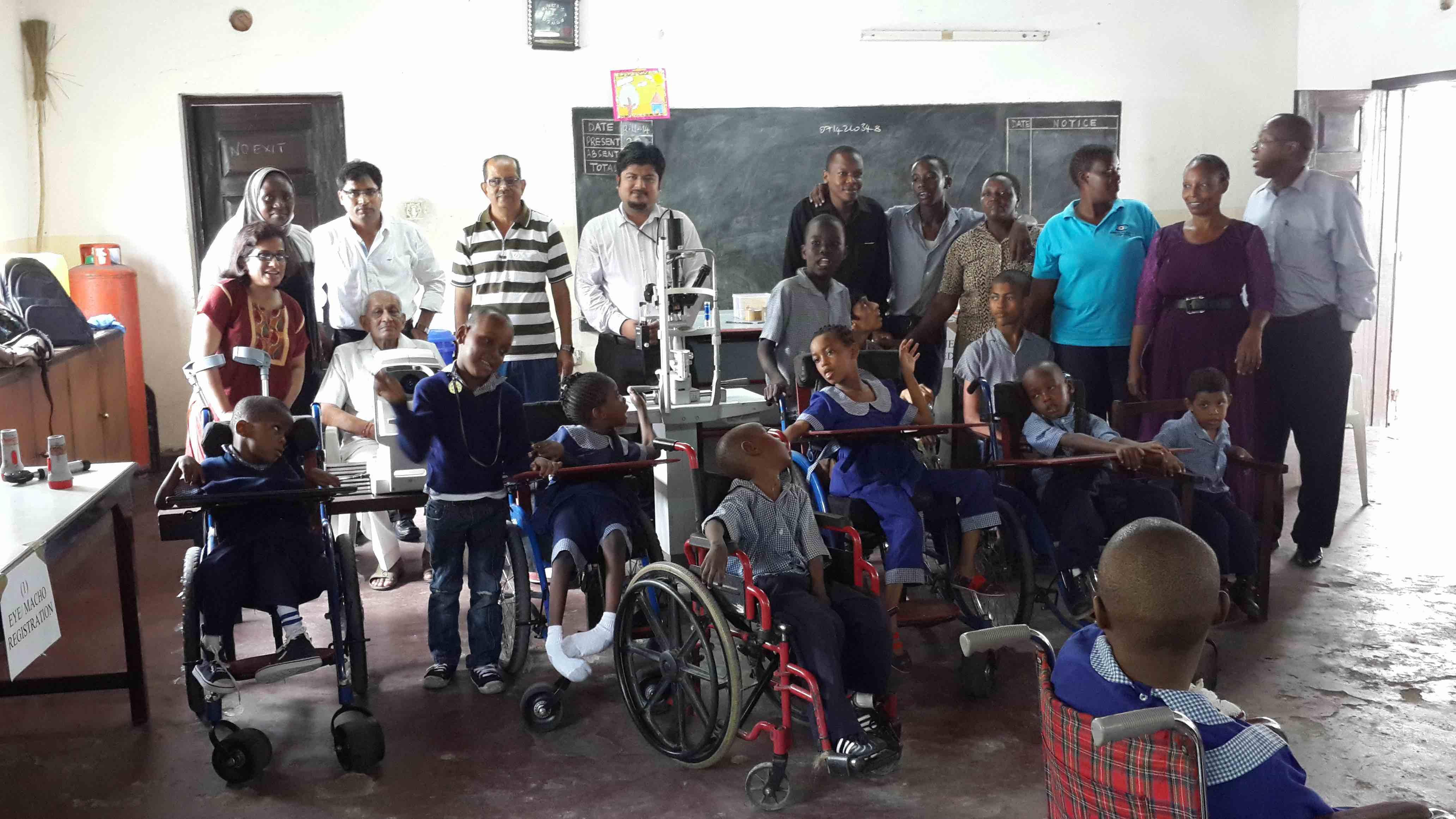 Mombasa Eye Hospital - Outreach!