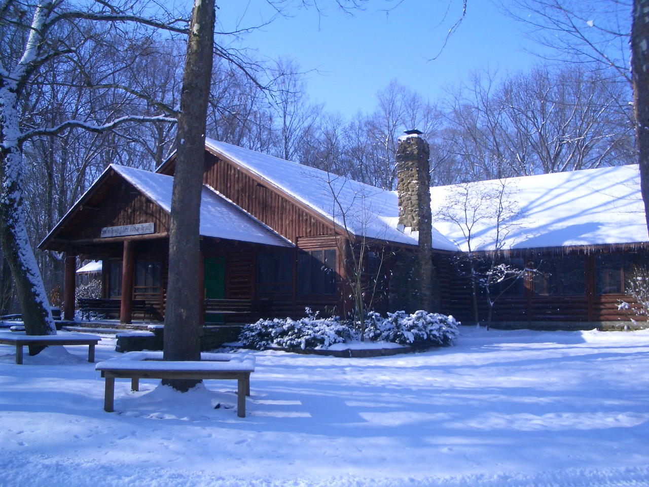 Dining Hall in winter