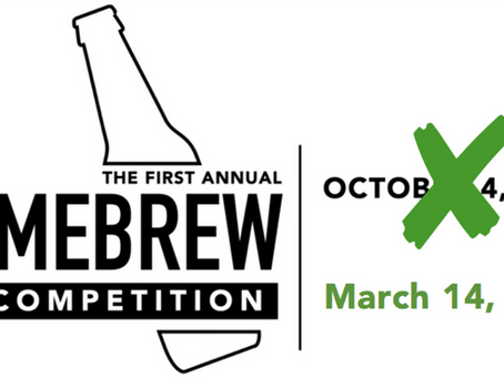 Home Brewing Contest - New Date
