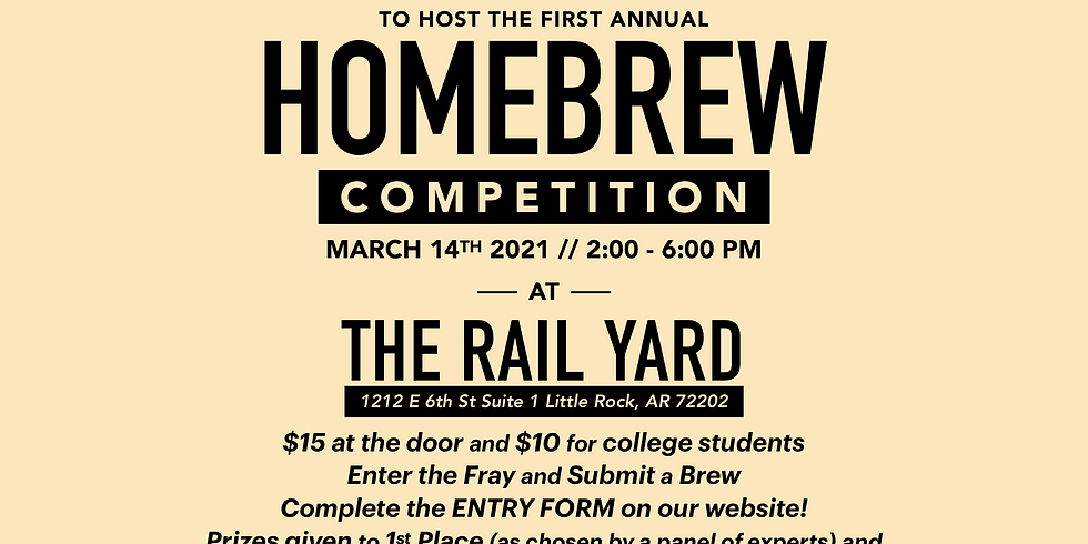 First Annual Central Arkansas ACS Homebrew Competition