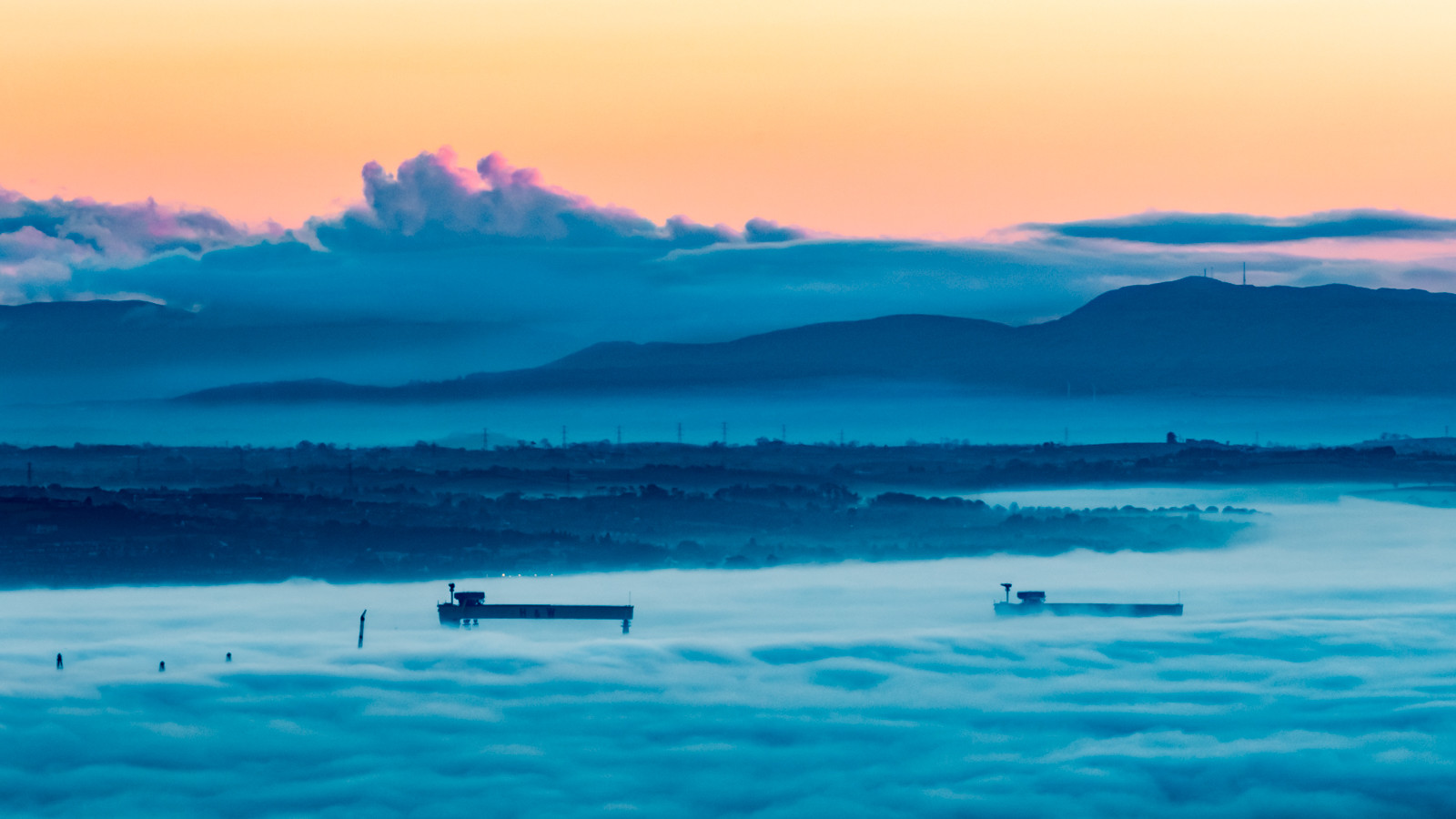 'High above the clouds' by Adrian Quinn (9 marks)  -  Catchlight Camera Club