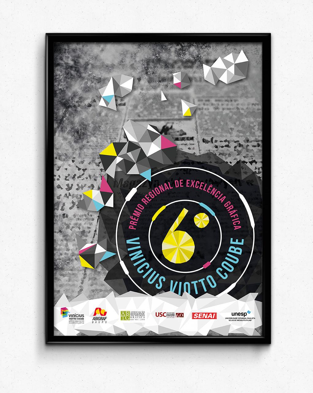 Cartaz 4º Prêmio cartaz Abigraf