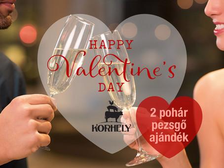 Február 14. = Valentin nap = Korhely!