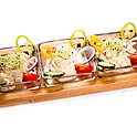Gizi nénje tálkája - padlizsánkrém, sajtkrém, tojássaláta