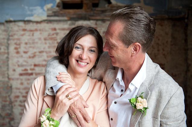Huwelijk Kathleen & Luc