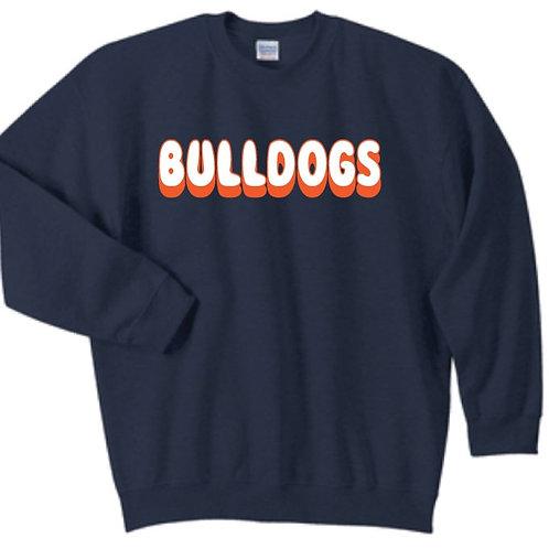 Gildan Navy Sweatshirt