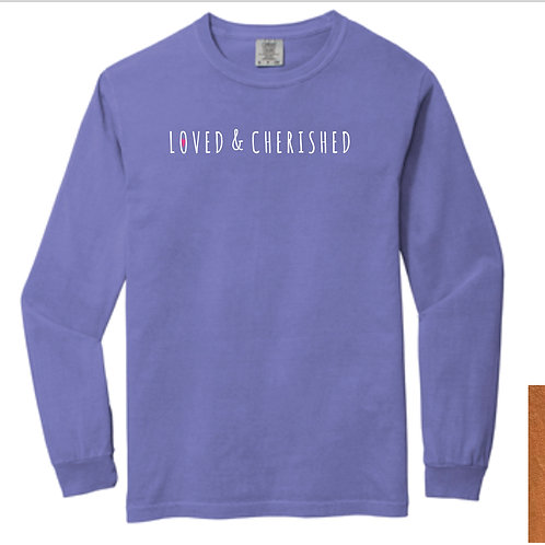 Comfort Color Long Sleeve Tee