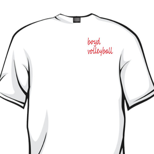 White Comfort Color Tee