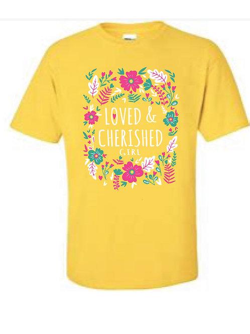 Girl's Yellow Tee