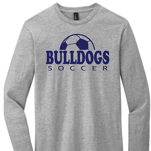 District Very Important Light Grey Long Sleeve Tee