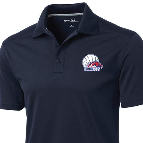 Men's Navy Polo w/ Embroidery