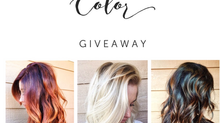 Christmas color giveaway!
