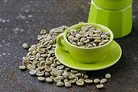 Canva - Organic Green Coffee Beans Close