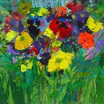 June Flowers I, 2012