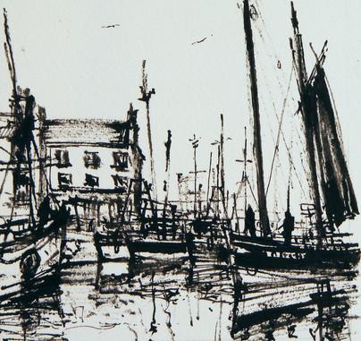 Sailing Boats, Eyemouth