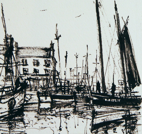 Sailing Boats, Eyemouth