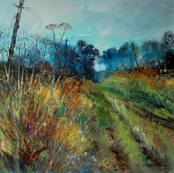 Lanton Craigs Lane, looking East