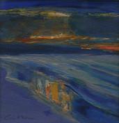 Evening, Bamburgh coastline 2004