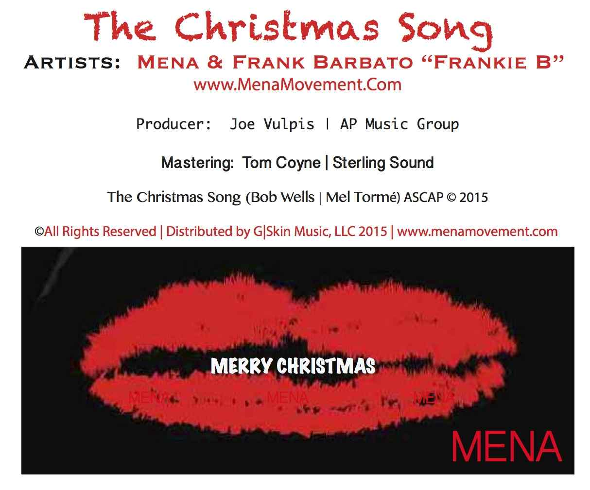 The Christmas Song _ Mena _ Frankie B _ Joe Vulpis _ AP Music Group