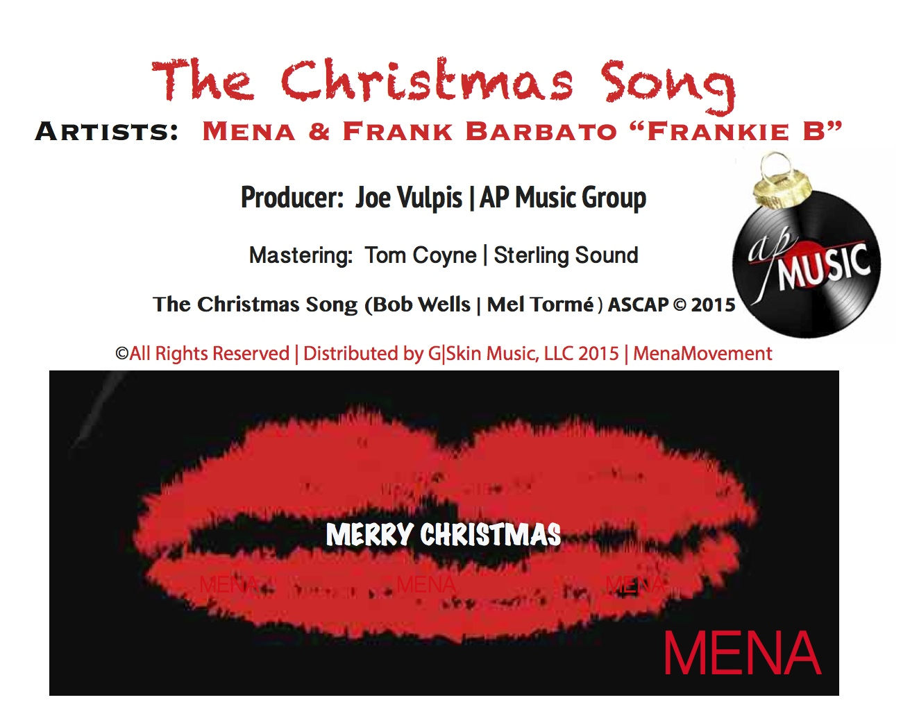 Mena _ Frankie B _ Joe Vulpis _ The Christmas Song _ AP Music Group