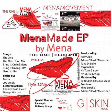 Mena's EP   Releasing December