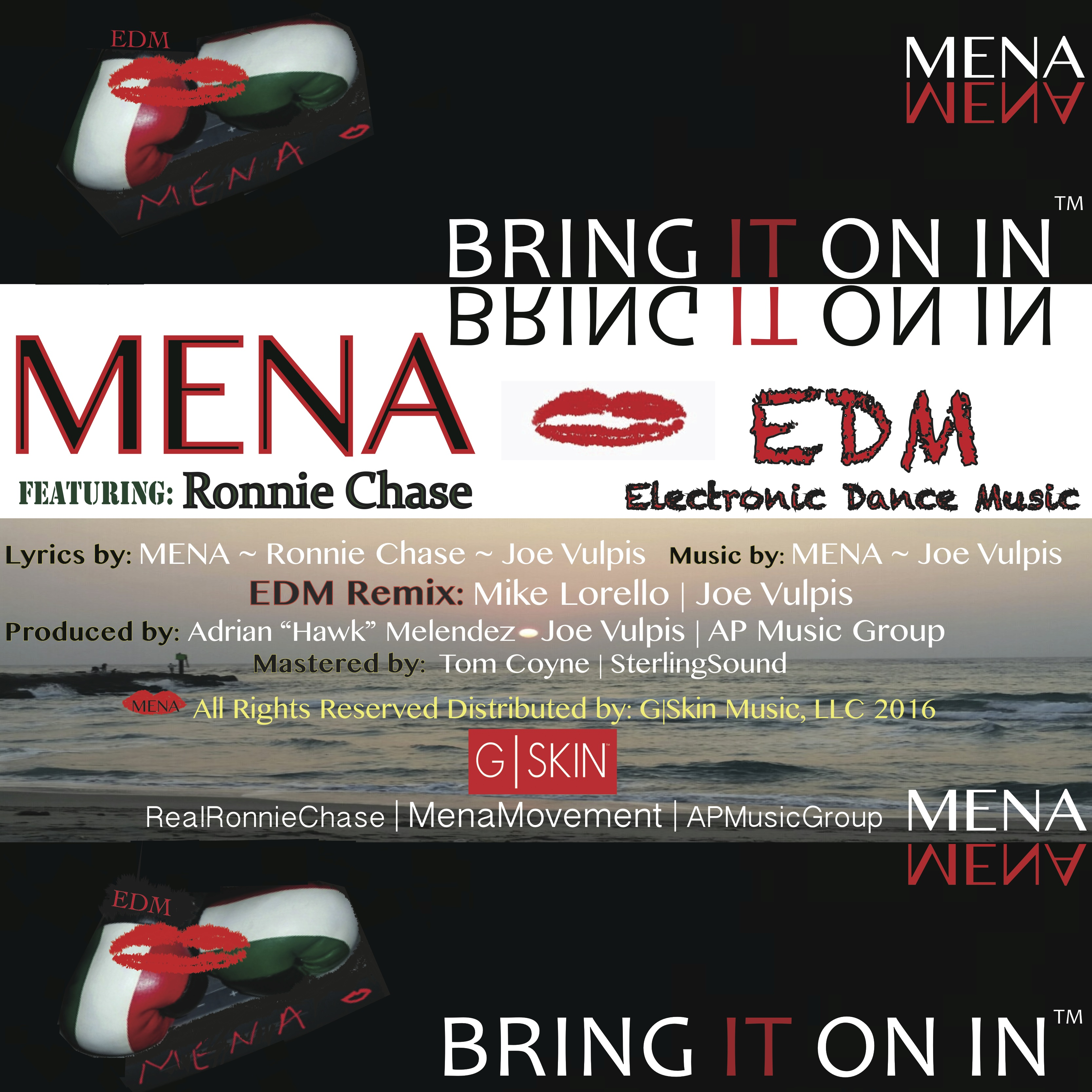 EDM Bring It On In ~MENA featuring Ronnie Chase Joe Vulpis Mike Lorello