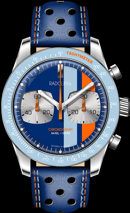 The RADCLIFFe HAXEL Chronograph Racing Series
