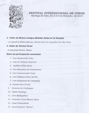 Festival de Santiago de Cuba