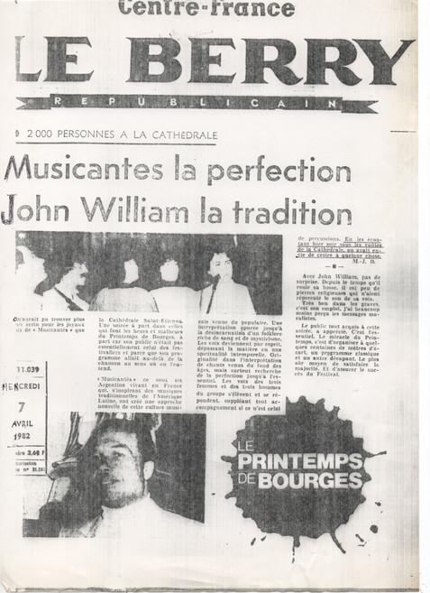 Musicantes en Printemps Bourges