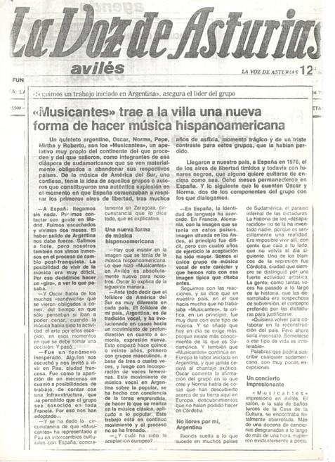 Musicantes Asturias