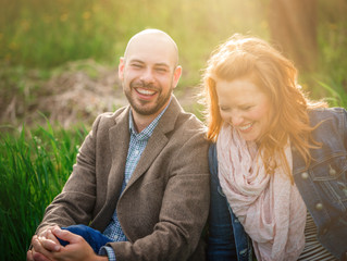 Maternity Photos Traverse City | Cherry Blossom Family Pictures
