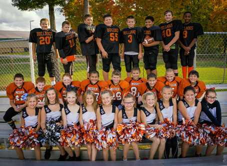 Pop Warner Football Photos | Mesick Photographer