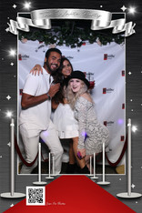 The White Party 2018 at The Parlor in Traverse City with The Enchanted Mirror Photo Booth