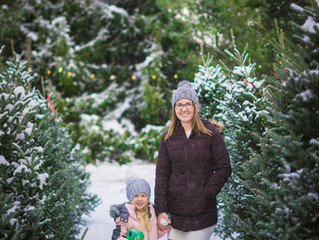 {Holiday Mini Sessions} The Hughes Family, Ashley's Family & Christine with Olivia!