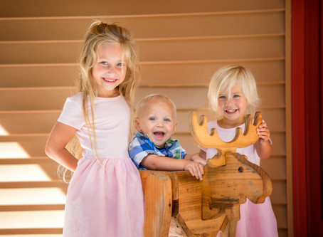 Traverse City Family Photographer | The Pre-Session Warm Up