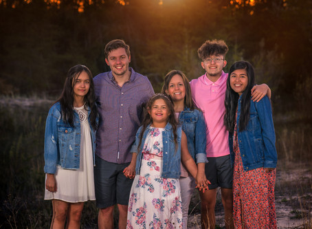 Family Photos in Northern Michigan | Glen Haven Beach Sunset