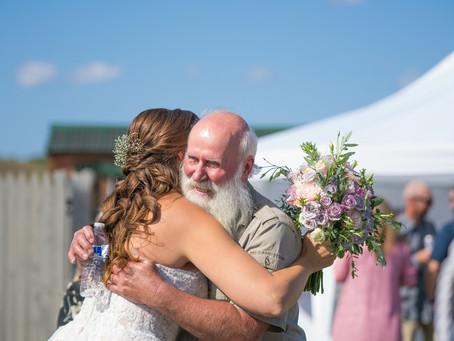 Buckley Backyard Wedding | Meet the Brows!