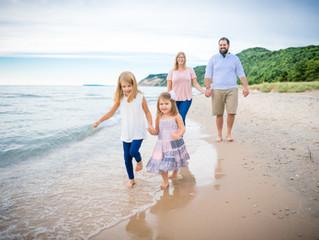 How Often Should I Do Family Photos? Traverse City Family Photos ft. The Ball Family