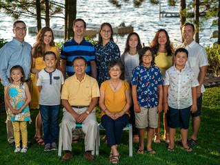 Family Vacation Photographer Northern Michigan | Lee Family | Arbutus Lake Vacation Rental