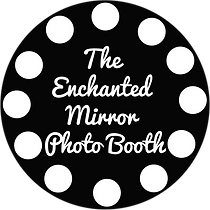 White Enchanted Mirror PhotoBooth Logo.p